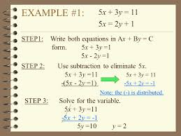 How To Solve System Of Equations By Elimination - Jennarocca