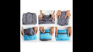 <b>Foldable Travel</b> Bag - How to <b>fold</b> and unfold | Unique <b>Travel</b> Gift ...
