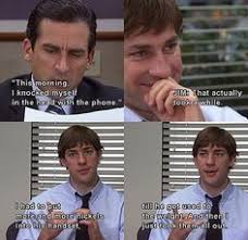 Quite possibly the best quote from The Office ever...Lol! She's ...