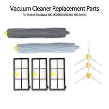 Decdeal Vacuum Cleaner Part 3 <b>Filter</b> 3 <b>Side Brush</b> 1 <b>Rolling</b> Brush ...
