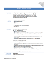 sample resume for waitress head waiter cv template head waiter cv english waitress sample waiter cv sample 1 careerride waitress head waiter job description resume head