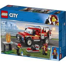 Купить <b>конструктор LEGO City Грузовик</b> начальника пожарной ...