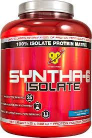 BSN <b>SYNTHA</b>-<b>6</b>™ <b>Isolate</b> Vanilla -- 4 lbs - Vitacost