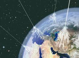 Rayo cósmico secundario