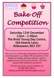 creative support bake off competition judged by dudley or creative support bake off competition judged by dudley or volunteering counts in dudley borough