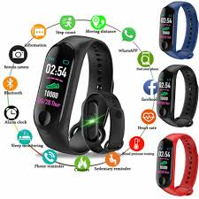 Hot Sale <b>M3 Waterproof</b> Smart Watch Wristband Heart Rate Monitor ...