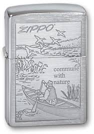 <b>Зажигалка Zippo Z200 Row Boat</b> Brushed Chrome. Купить ...