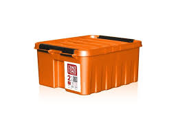 Пластиковый <b>контейнер</b> Rox Box с крышкой оранжевый ...