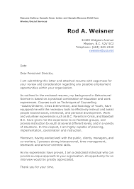 child care cover letter for resume resumecareer info child care worker cover letter sample