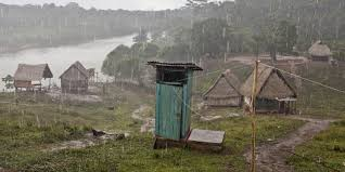 deforestation in magazine articles wwf rain drenched village in