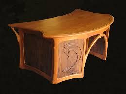 art nouveau desk art deco desk chair office side armchair
