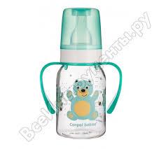 <b>Тритановая бутылочка Canpol</b> babies 120 мл. 3+ Cheerful animals ...