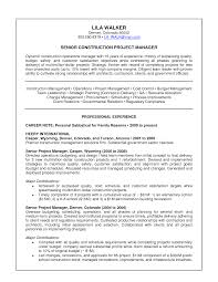 sample resume senior project manager construction cover sample resume senior project manager construction construction project manager sample resume cvtips construction project manager resume