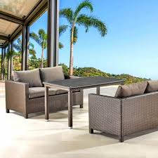 <b>Обеденный комплект плетеной</b> мебели с диванами T256A/S59A ...