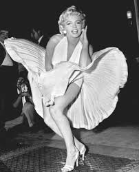 hollywood glamour: marilyn monroe photo pose seven year itch