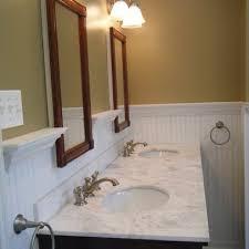 bathroom beadboard bath