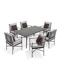 seven piece dining set: