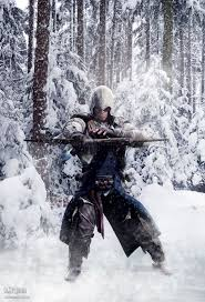 images about fantasy art warriors hunters ths time it s winter hunting somewhere near the frontier you can the original all stars render here assassin s creed connor kenway