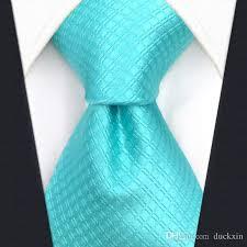 c34 solid aqua mens slim silk tie skinny ties for men wedding 6cm