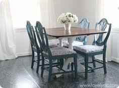 anne dining room table painted