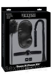 <b>Набор для интимных удовольствий</b> tease-n-please kit Pipedream ...
