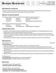 aviation resume examples  aircraft mechanic resumes samples    aircraft mechanic resume examples