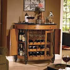 heres a home bar for wine lovers with its 18 bottle wine rack bar furniture designs