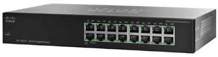 <b>Cisco SF110-16</b> 16-Port 10/100 Switch | SecureITStore.com