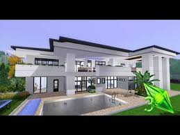The Sims House Designs   Modern Elegance   YouTube