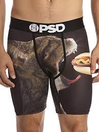 <b>PSD</b> Men's Athletic Boxer Brief Underwear- Premium Boxer Brief at ...