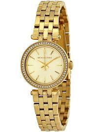 Маленькие <b>Часы Michael Kors</b> Женские Золотистые <b>MK3295</b>