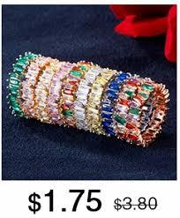 RAKOL <b>Trendy Women's Jewelry</b> Hand Made <b>Cubic</b> Zirconia Leaf ...