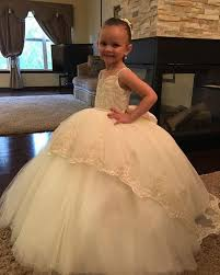 <b>2019 New Arrival Cute</b> Ball Gown Designer Kids Dresses Lace ...