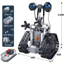 <b>Erbo 408 Pcs City Creative</b> Rc Robot Electric Construction ...