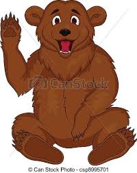 Image result for brown bear clipart
