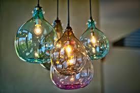 photos hgtv blown glass pendant lights