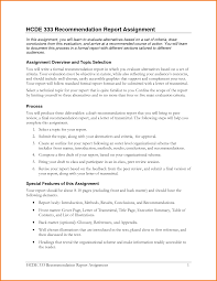 recommendation report template expense report recommendation report template