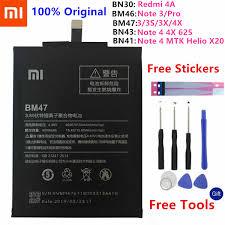 BM49 BM50 <b>BM3B</b> BM22 BM35 Battery For <b>Xiaomi Mi</b> 5 4C Max Mix ...