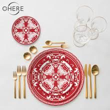 Посуда из костяного фарфора в китайском стиле, набор с ...