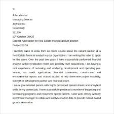entry level cover letter     free samples   examples  amp  formatsfinancial analyst entry level cover letter