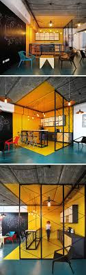 office define. interior design idea use color to define an area within office bright yellow walls floor and ceiling clearly defines the while t