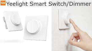 <b>Xiaomi Yeelight Smart Dimmer</b> Switch (unboxing/setup/demo ...