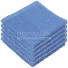 <b>Полотенце кухонное</b>, 30х30 см, <b>Belezza Ocean</b>, 400 г/кв.м, синее ...