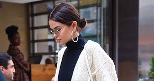 Selena Gomez Has <b>New Curly</b> Lob Hair Cut & Color ForFall