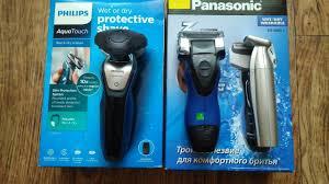 Отзыв на <b>электробритву Panasonic ES 6002</b>, PHILIPS AquaTouch ...