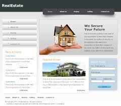 realestate psd website template psd demo realestate website template