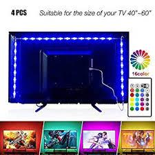 <b>Led</b> Strip Lights 6.56 ft for 40-60in TV, PANGTON VILLA <b>USB LED</b> TV