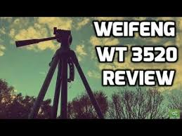 Wiefeng <b>WT 3520</b> Review - The Best Tripod Under $50! - YouTube