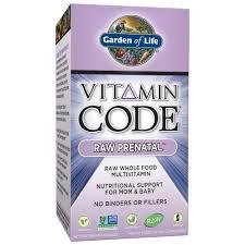 Garden of Life <b>Vitamin Code Raw</b> Prenatal, 90 Capsules - Walmart ...