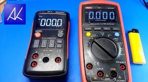 <b>Мультиметры</b> ZT-X и <b>UT139S</b>. - YouTube
